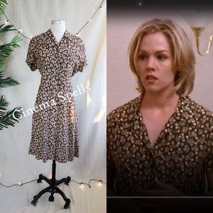 ☀️VTG 90s ASO Kelly in Beverly Hills 90210 Dress L